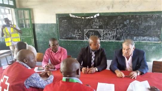 Assinado o Termo de Inicio das Obras de Reabilitação da Escola Heróis Moçambicanos na Beira