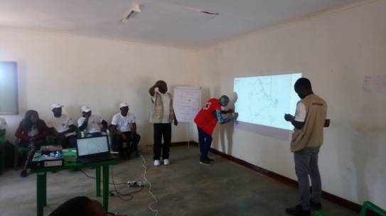 Troca de experiências entre a Cruz Vermelha de Moçambique e Malawi Red Cross sobre o Programa de Assistência em Dinheiro e Senhas