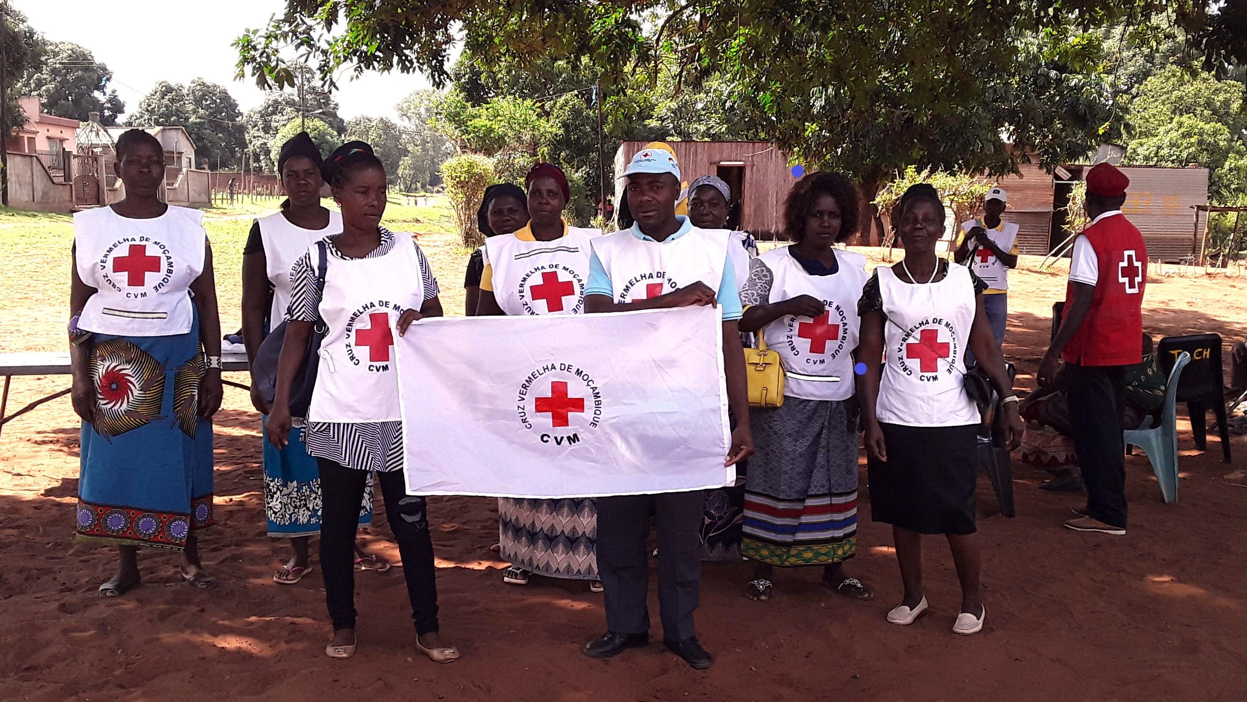 Dia dos Voluntários em Chibuto, Gaza