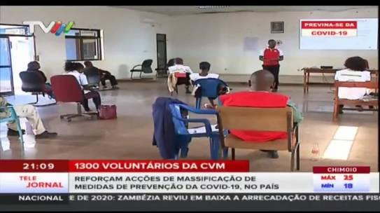CVM massifica medidas de prevenção do novo coronavírus em Niassa: Reportagem – TVM